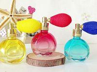 10Piece/Lot 15ML Color Cute Airbag Perfume Glass Bottle / Glass Empty Bottle Air Spray Perfume Bottle 3385