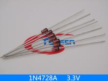 50Pcs/Lot  1W Zener Diode 1N4728A 3.3V