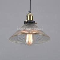 Vintage Loft Industrial American Lustre Glass Copper Edison Pendant Lamp Kitchen Dinning Living Room Modern Home Decor Lighting