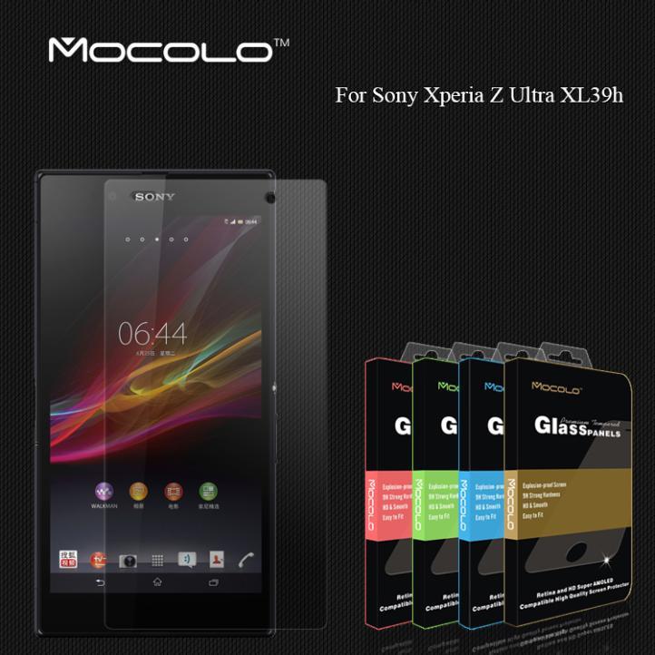Защитная пленка для мобильных телефонов Mocolo Sony Xperia Z Ultra XL39h 0,33 1pcs/lot защитная пленка для мобильных телефонов mocolo oem sony xperia z xl39h 1pcs lot