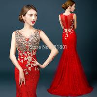 vestidos de festa vestido longo red long evening dress party evening elegant vestido longo sexy evening dresses vestidos 642