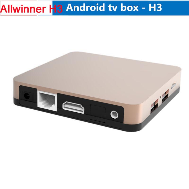 Android 4.4 TV box Allwinner H3 1.5 GHz ARM Quad core A7 4K*2K media+Octo-Core Mali-400 GPU 1GB 8GB HDMI 1080P Smart TV Box(China (Mainland))