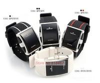 2015 New Intercrew Casual Men Electronic Sports Watches Women Fashion Luxury Watch Rubber Band Wristwatches LED Digital Watch