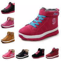2014 Autumn Winter Women Add Cotton Warm Shoes Women Sneakers Skid Resistance Sport Tourist Waterproof Running Casual Shoes X618