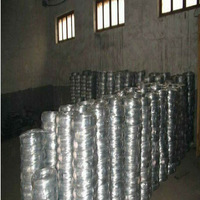 Zinc Coated Iorn Wire, Electro Or Hot-dipped Galvanized Finish