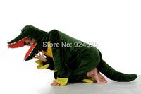 Animal cos Crocodile Pajamas Adult Women Men Flannel fleece hoodie Onesie Costume christmas clothes Halloween sleepsuit dress