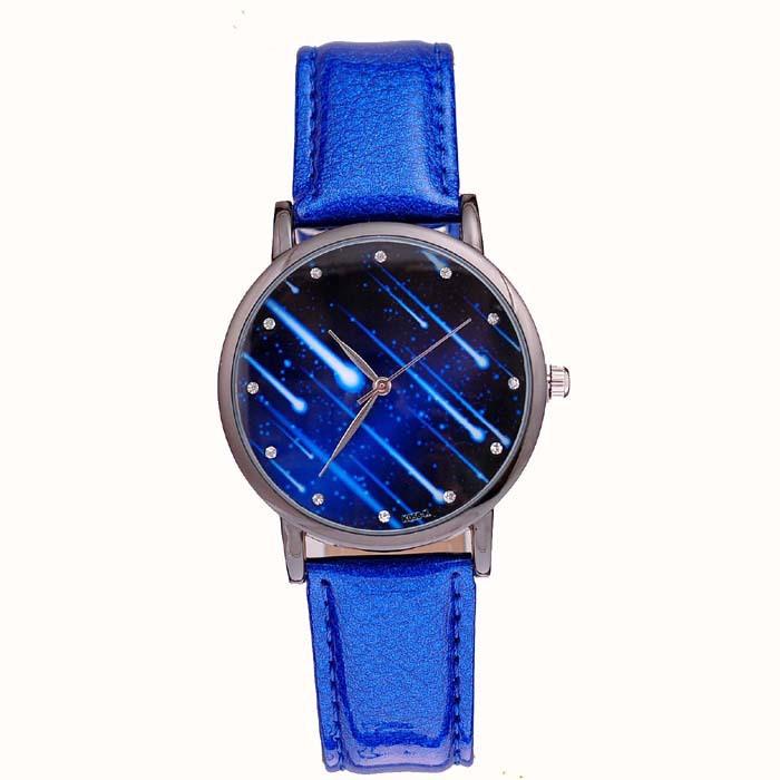 Korean version of the retro fashion trend female form Ms. Liang Pi Star Fashion quartz watch meteor(China (Mainland))
