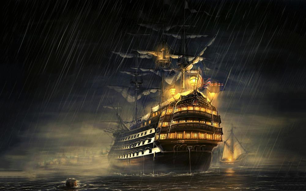 Sailing Ship Cartoon Ships Navy Royal Navy Sailing
