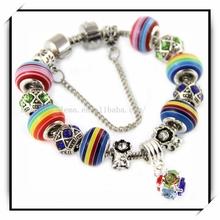 New Fashion Beads Charm Bracelet For Women Fits Pandora Style Bracelets Charms Free Shipping MGR22