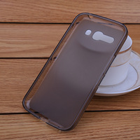 new cute pudding case for Alcatel OT-7047 C9 S920 clear/black back cover soft tpu material 1 piece retail