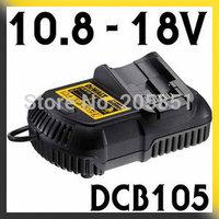 240V Li-ion XR MAX Lithium-Ion Battery Charger for 10.8V, 12V, 14.4V, 18V, 20V - DCB105 European Model