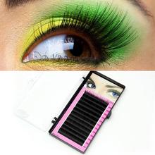 Makeup Individual False Eyelashes Thick Curl Eye Lash Extensions Tool 8/10/12mm#M01176