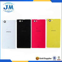 Battery Housing Cover for Sony Xperia Z1 Compact Z1 Mini Z1 f SO-02F Rear Back Glass back Cover Housing free shipping 4 color
