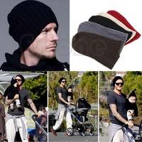 Free Shipping HOT! Unisex Men Hip-Hop Warm Winter Wool Knit Ski Beanie Skull Slouchy Cap Hat