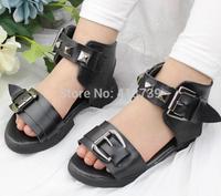 The new 2015 summer rivet light MianRuan children sandals cuhk child cool free mail