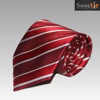 2015 New Fashion Accessories Polyester Silk Stripe pattern Men Men's jacquard weave Party Wedding Neckties Tie