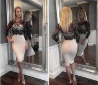 Dropshipping!2015 Europe and America women sexy Hip dress  party dress Lace stitching vestido de festa