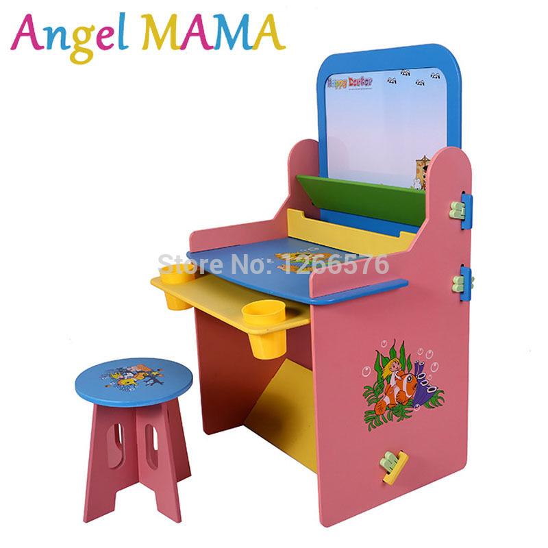 Online kopen wholesale kind bureau meubelen uit china kind bureau meubelen groothandel - Houten bureau voor kinderen ...