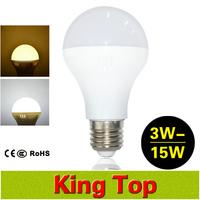100% NEW Epistar E27 Led Bulb Lamps AC220V 3W 5W 7W 9W 12W 15W High Brightness Lampada Led Spotlights Lighting 4PCS