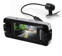"Car DVR FHD 1080P 720P/30fps 2.7""LCD Video Recorder Dashboard DVR With Dual Camera Allwinner CPU(Russian) F80"