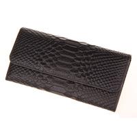 2015 new crocodile suede cowhide leather wallet purse wholesale Lady purse card L518