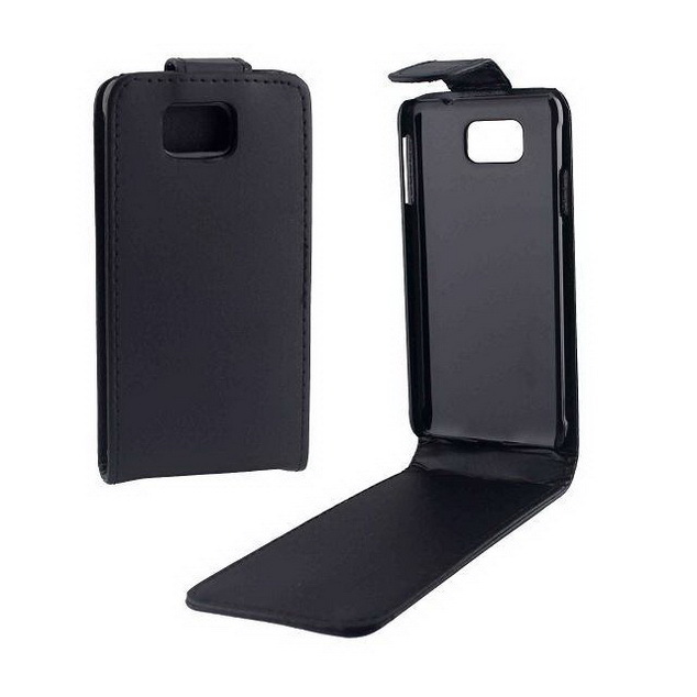 Flip Black Vertical Up Down Stand Protective Leather Shell Case For Samsung Galaxy Alpha G850 G850F Smart Phone Bags Case SX133(China (Mainland))