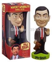 Free shipping Mr. Bean Funko Wacky Wobbler Bobble- Head
