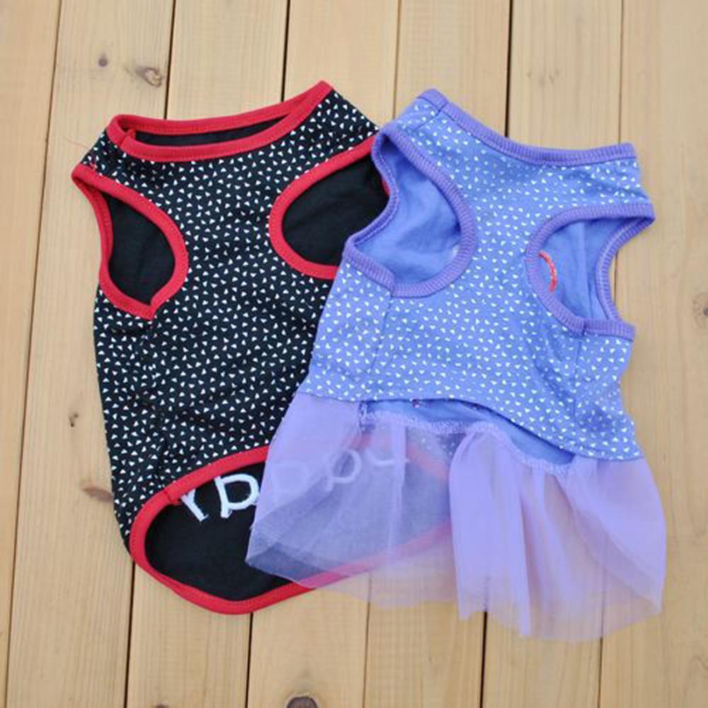 Собака одежда для питомцев я люблю мой папа / мама печать жилет без рукавов собака футболки одежда
