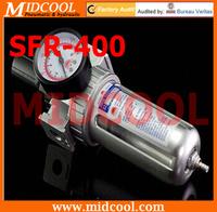"air compressor filter regulator, SFR-400 PNEUMATIC AIR FILTER REGULATOR BSP 1/2"""