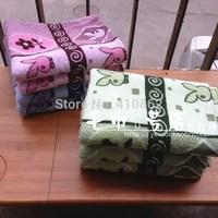 pure cotton facecloth Promotion face towel 32*73cm 80g printing rabbit cartoon facetowel 3pcs/lot