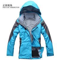 Top selling! Women 3in1 Winter New Outwear Ski Snow Waterproof Climbing Hiking Outdoor Jacket