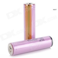 4 Piece Genuine Samsung ICR18650 2600mAh Protected Li-ion Rechargeable Batteries