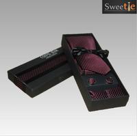 100% Handmake Men Knitting Neck Ties Knots tie Men's casual Solid kintted polyester Silk Narrow Design  Necktie Neck Ties 3pic
