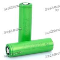 2 Pcs Genuine 18650 2600mAh Rechargeable Batteries Plus 18650 Charger