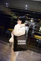 Fashion Women Handbag PU Leather Letter Women Shoulder Bag Casual Tote Purse Hobo Shoppers