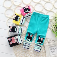 Girls leggings 2015 hot sell leggings NEW Kid pants full length girls pants elsa&anna legging for girls ,children pantsDDK-1504