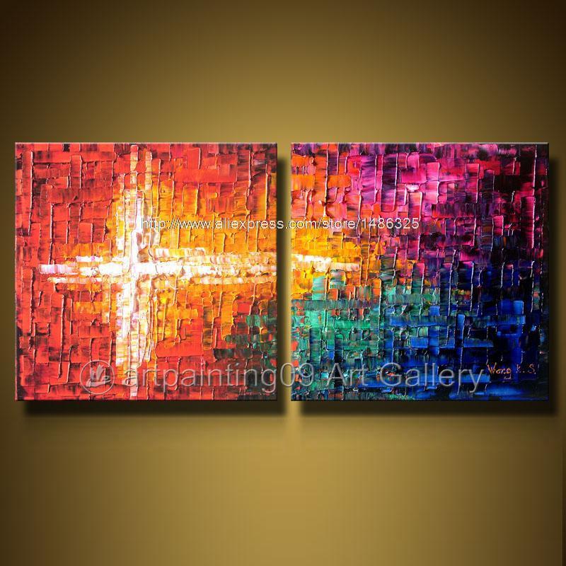 Kunst art deco olieverfschilderijen home decoration kunst aan de muur