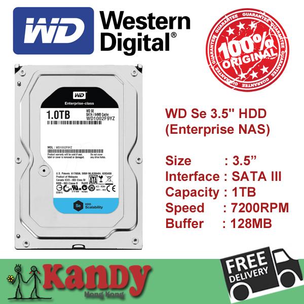 Western Digital WD 1TB SATA 3 III 3.5 inch desktop HDD internal hard disk drive Cache 128MB 7200rpm Wholesale lot WD1002F9YZ(China (Mainland))
