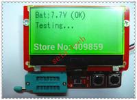 Free shipping 2015 new big12864 LCD M328 digital Transistor Tester Capacitance ESR Meter Diode Triode MOS LCR NPN
