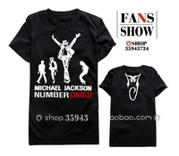 Michael Jackson NUMBER ONES t shirt-sleeved short-sleeved michael jackson t shirt women