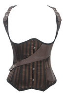 beauty online new 2014 women sexy lingerie hot NEW Sexy 12 Steel Bones Patterned Under Bust Corset LC5370