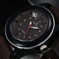 Stylish 3D Dial Design Unisex Sports Watches Men Luxury Brand Quartz Watch Women Wristwatches Rubber Band Relogio masculino 4769