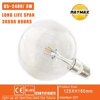 4pcs/lot led light bulb E27 Bubble Ball Bulb 3000K chandelier Best parner G125  led lamp dimmable led bulb 220V led light bulbs