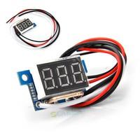 """2014 New Arrival Current Meter 0.36"""" Ammeter 10A Panel Amperes Meter Digital Led Display Color Red TK1220 B14"""