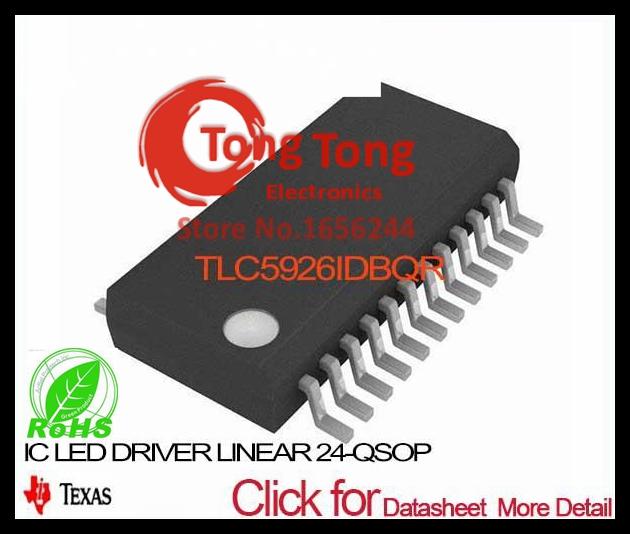 TLC5926IDBQR IC LED DRIVER LINEAR 24-QSOP TLC5926IDBQR 5926 TLC5926 TLC5926I TLC5926ID 5926I(China (Mainland))