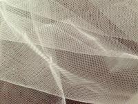 Factory! Wholesales! 160cm width 60yards ivory fabric, gauze mesh fabric, thin soft light fabric, for Wedding dress ,veil, tutu