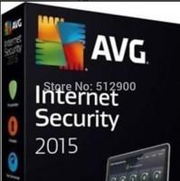 AVG Antivirus security AVG Internet Security 2015 2014 3Years 3 PC 100% Working antivirus Software