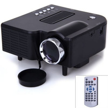 UC-40 24W Portable Mini LCD Projector 400 Lumens with 3-in-1 AV Input 1080P Two Colors(China (Mainland))