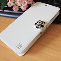 New Lenovo S960 Case Lenovo S960 Leather Case Flip Cover Lenovo S960 Wallet Stand Case Luxury Diamond Cell Phone Case Cover