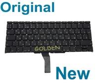 "Original New For Macbook Air 11"" A1370 A1465 MC968 MC505 MC506  RU Russian Keyboard 2011 2012 2013 Year Teclado"